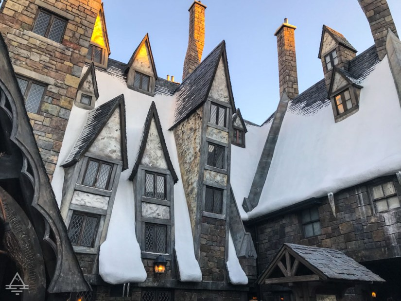Hogsmeade Village in Harry Potter World Orlando