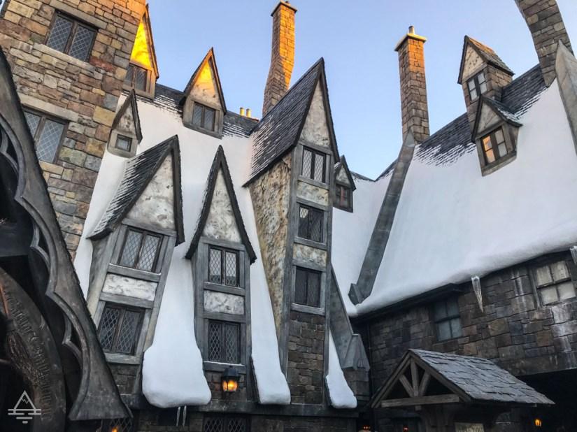 Hogsmeade Village in Harry Potter World Orlando