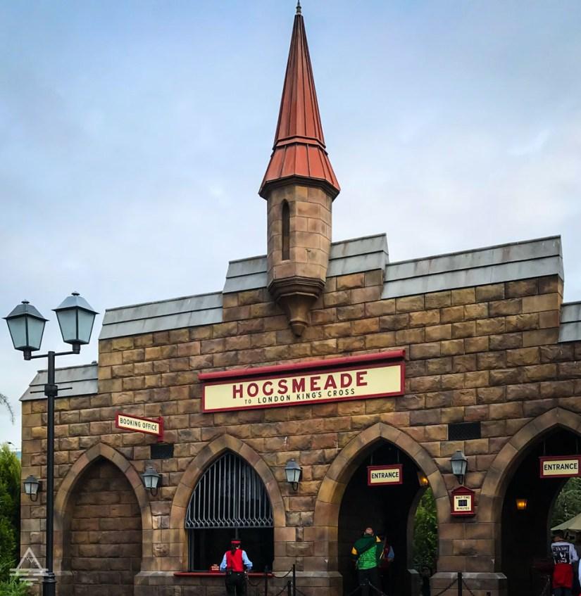 Hogsmeade Station in Harry Potter World Orlando