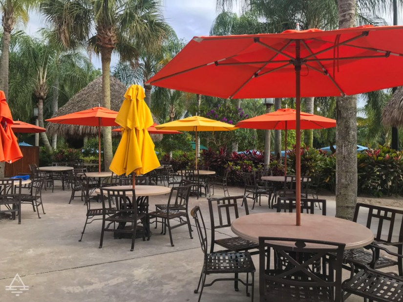 Discovery Cove Restaurant Seating Area with Table and Chairs