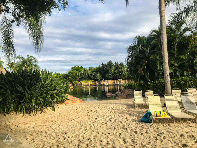 Lagoon and Sandy Beach at Discovery Cove