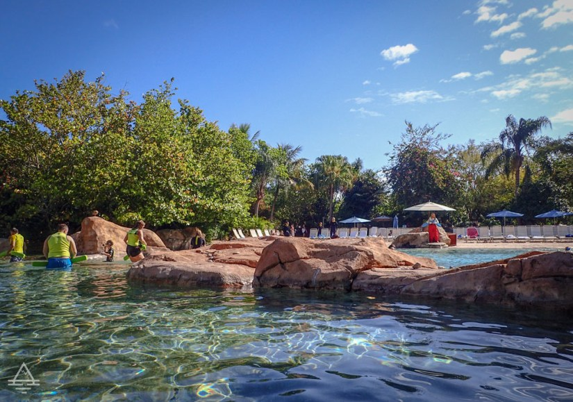 Discovery Cove Serenity Bay Pools