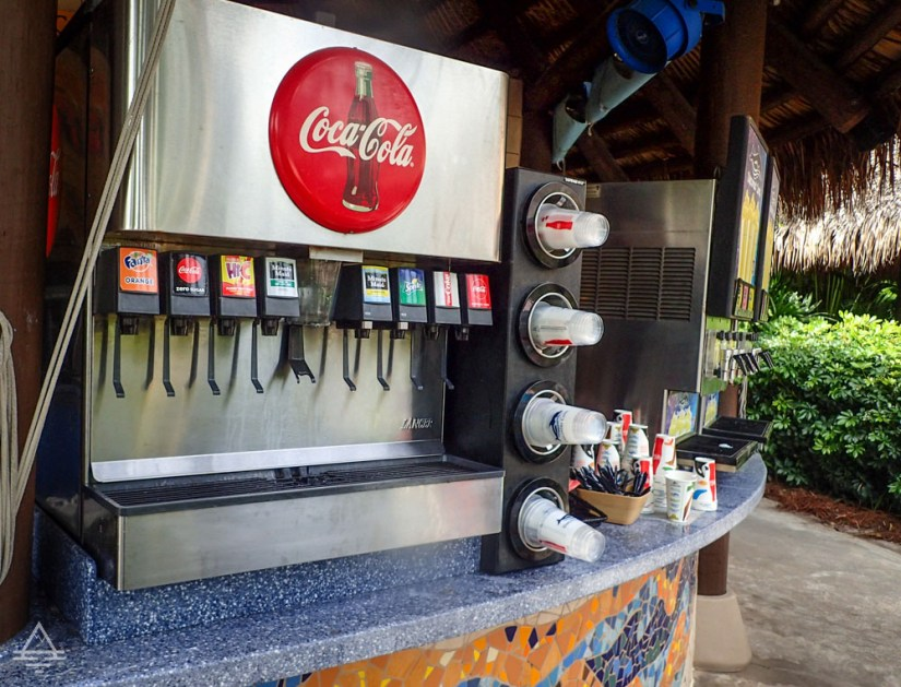 Discovery Cove Snack Station - Coca Cola Machine