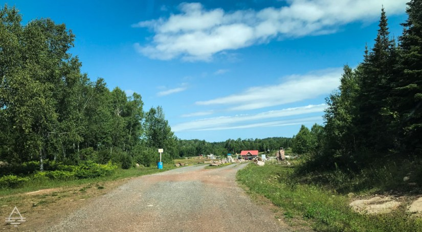 Gravel Road to Panorama Amethyst Mine
