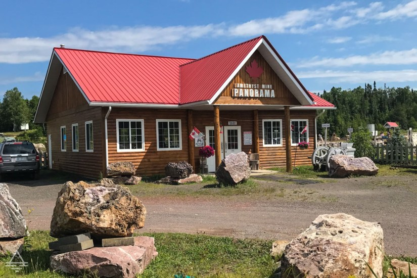 Panorama Amethyst Mine Welcome Center Cabin