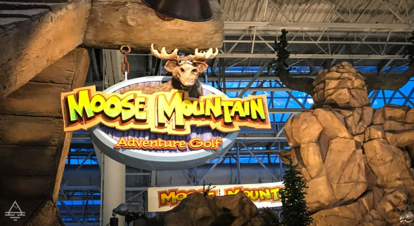 Moose Mountain Adventure Golf Sign