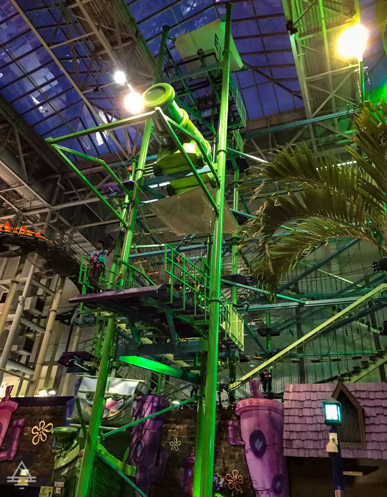 Green Ropes Course