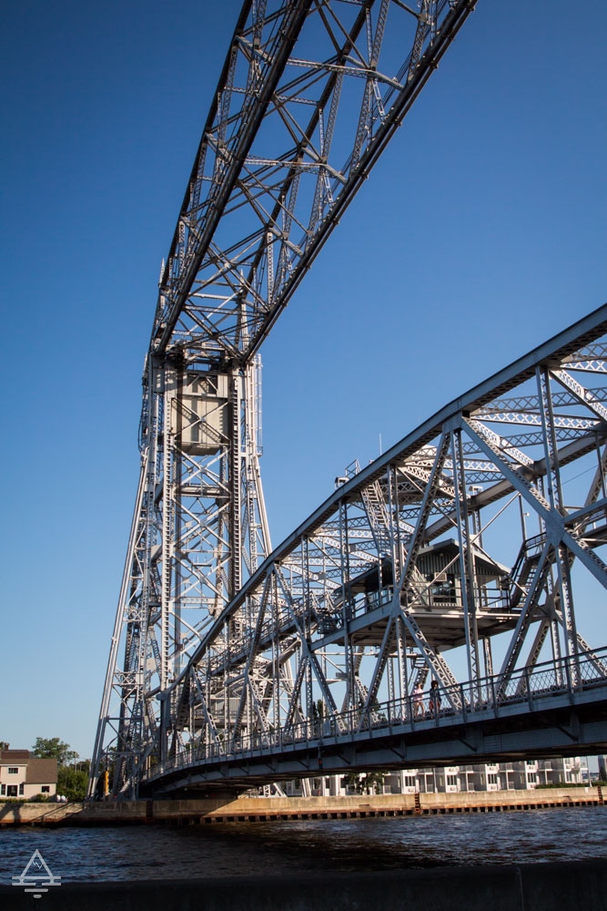 View of Duluth Aerial Lift Bridge
