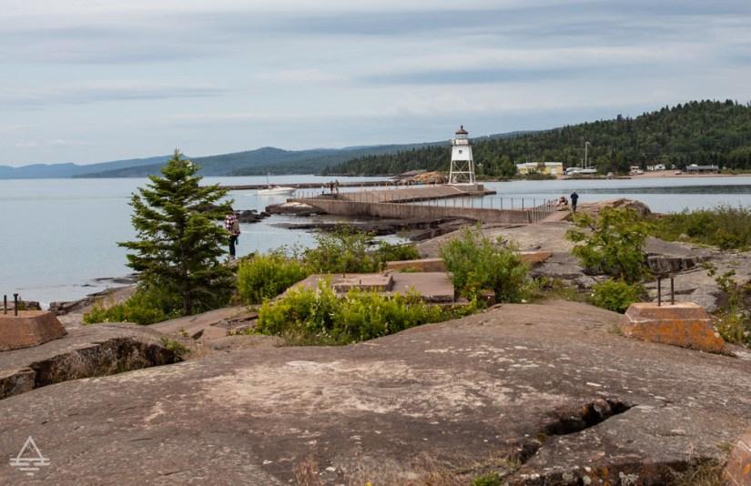 The Lighthouse in Grand Marais, MN