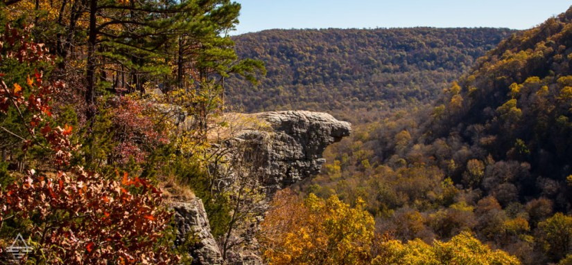Whitaker Point in fall.