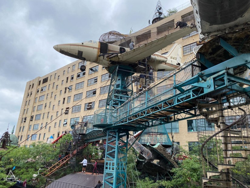 City Museum outdoor play area in St Louis