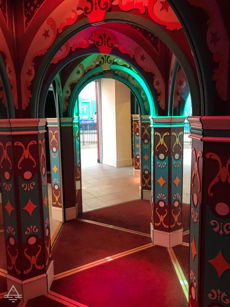 Entrance to Mirror Maze