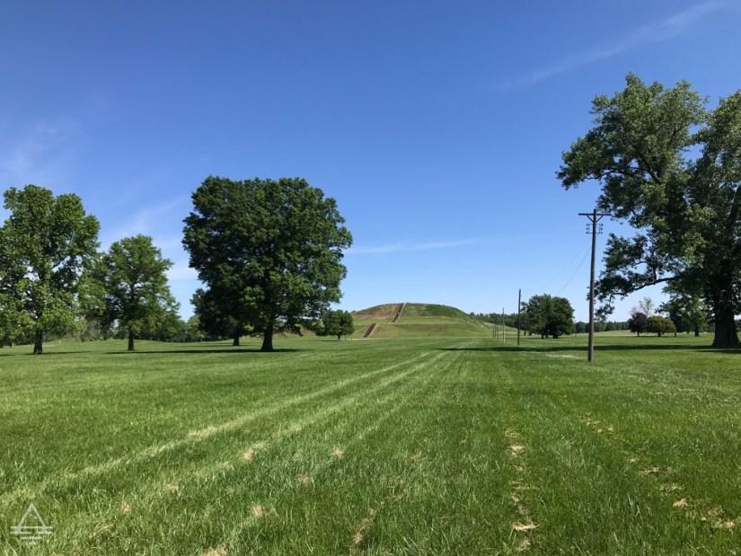 Monk's Mount at Cahokia Mounds