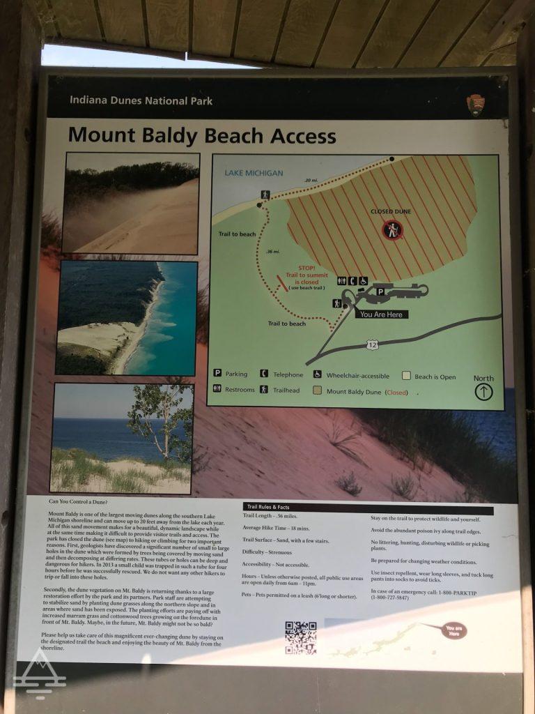 Mount Baldy Sign