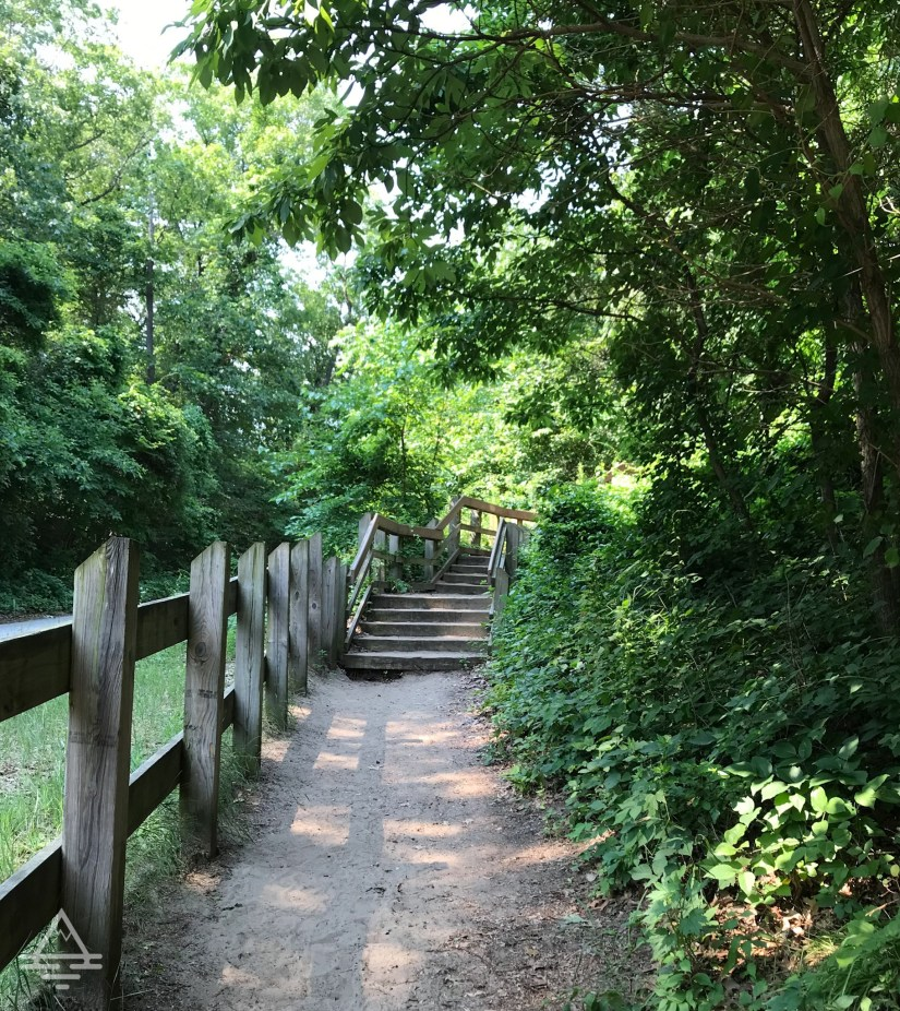 Mount Baldy Trail with Stairs