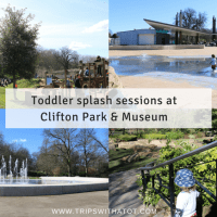 When are Toddler splash sessions at Clifton Park & Museum, Rotherham?