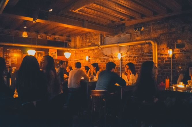 Mayor of Scaredy Cat Town Secret Bar - Where to go out in London