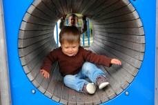 G in tunnel, Connemara NP