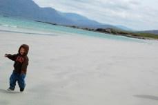 G off the ground, Renvyle beach