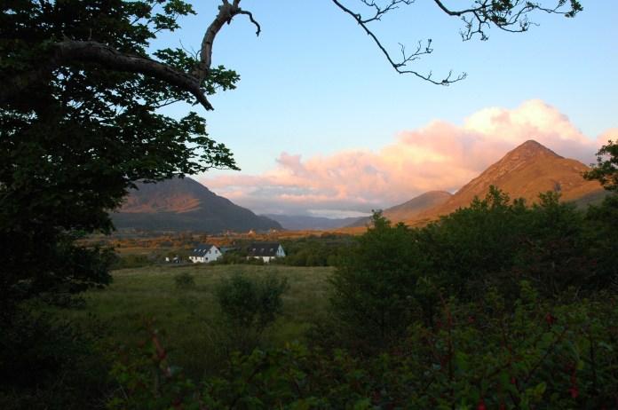 the cottages, Letterfrack