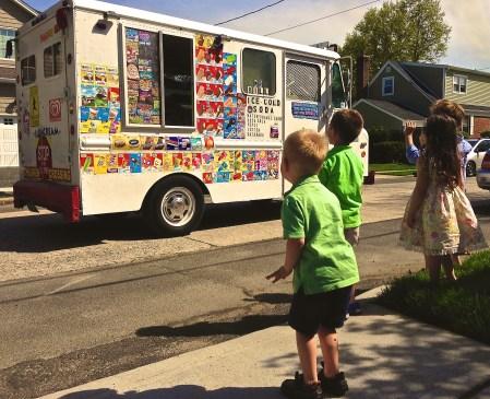Kids with Ice Cream Truck