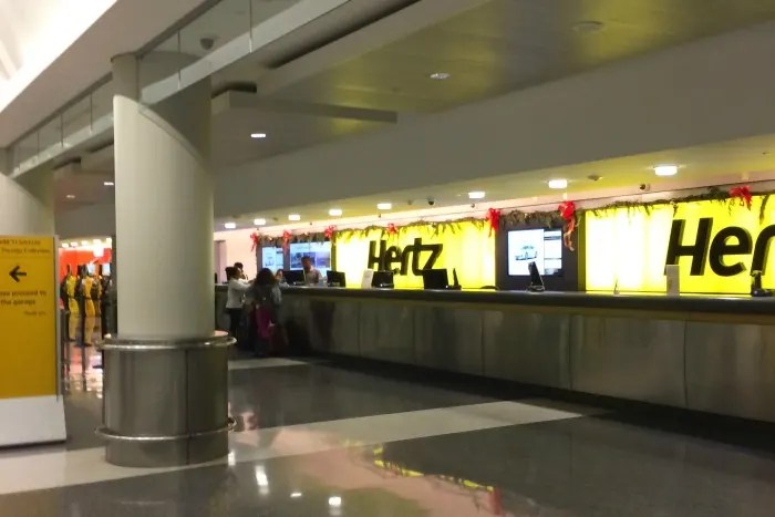Car Rental with Kids - Hertz