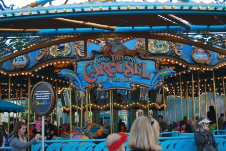 King Triton's Carousel: Top 7 Attractions in Disneyland's California Adventure for Toddlers & Preschoolers
