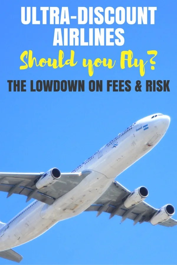 Thinking of flying one of the ultra-discount airlines in the United States? Get the scoop on fees and risks aboard Spirit, Allegiant, and Frontier.r