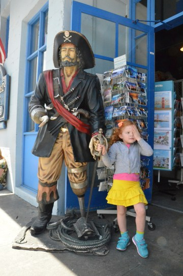 Ahoy Mateys!  Kidding around on Monterey's Cannery Row.