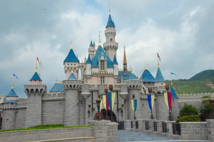 Hong Kong Disneyland Castle - 1