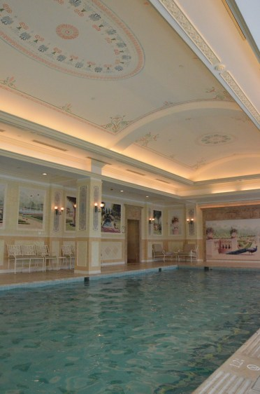 Hong Kong Disneyland Hotel Indoor Pool