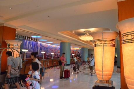 Hong Kong Disneyland Hollywood Hotel Lobby
