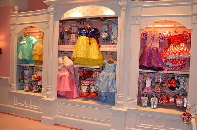 Dress choices Hong Kong Bibbidi