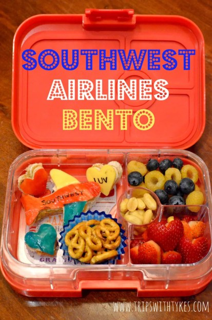 Southwest Airlines Bento: Southwest Luv for Lunch
