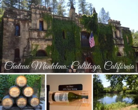 Chateau Montelena in Calistoga, California