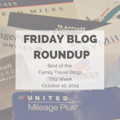 Friday Blog Roundup Oct 10, 2014
