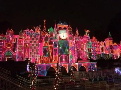 Small World Holiday at Disneyland