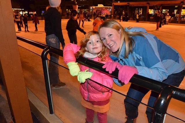 Ice Skating Northstar California Lake Tahoe