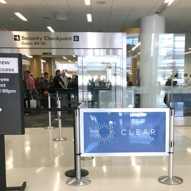 SFO Airport with Kids - CLEAR Lane