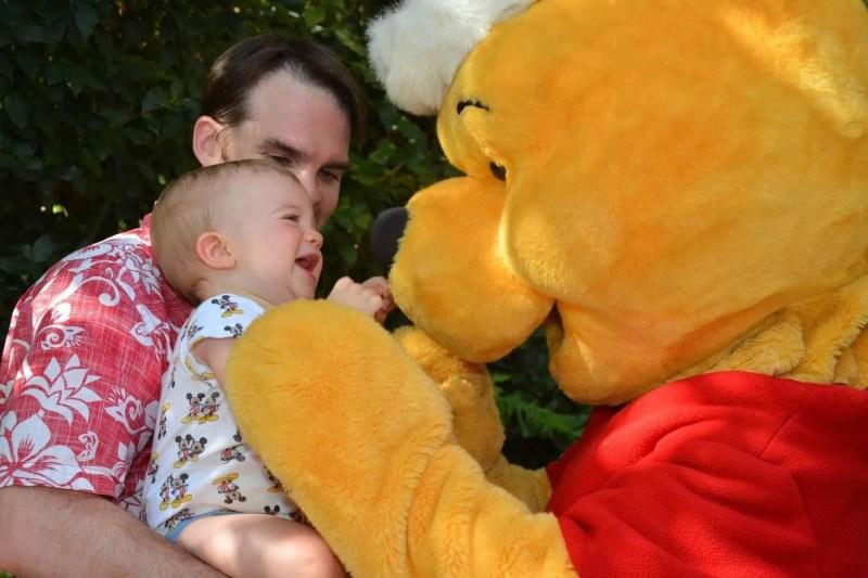 Winnie the Pooh meets Baby C