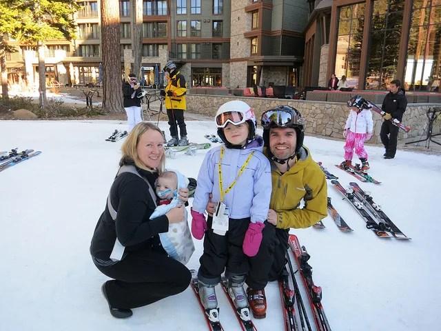 Skiing with Toddlers and Preschoolers - Preschooler Skiing