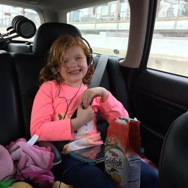 Disneyland road trip with kids