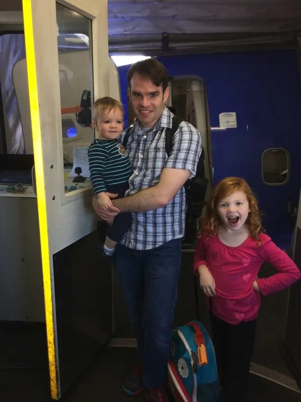 Family Boarding Southwest Airlines