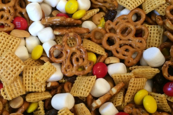 Mickey Mouse Trail Mix Final Product
