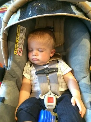 Car Seat Baby Asleep