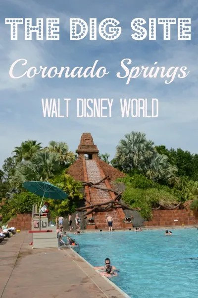 The Dig Site at Coronado Springs: Deluxe Disney Pool at a Moderate Price