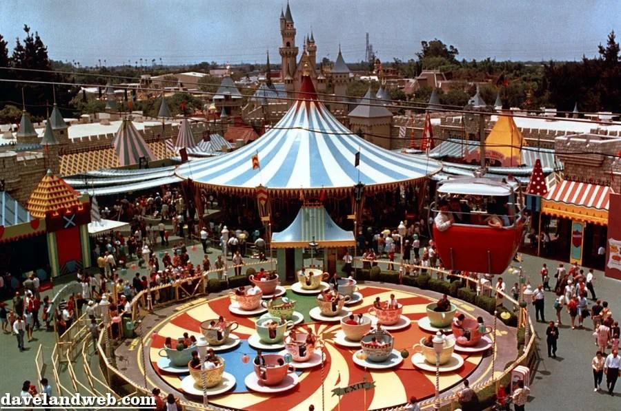 Old Fantasyland Disneyland