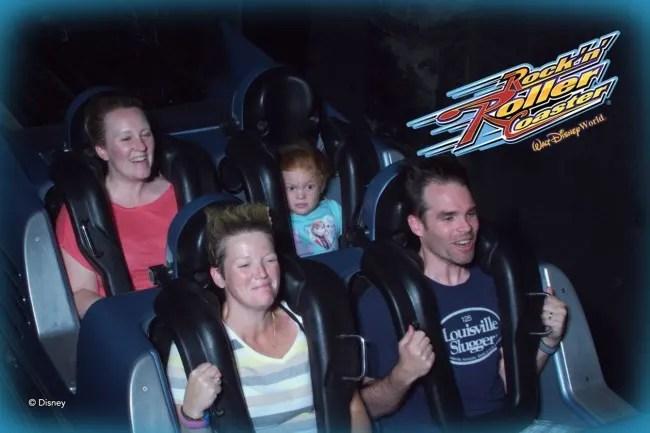 Pushing Kids During Travel - Rock N Roller Coaster