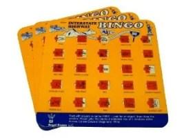 Tech free - Road Trip Bingo Cards