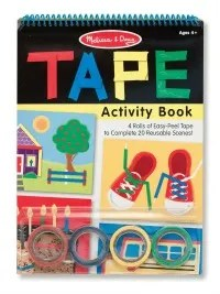 Tech free - Tape Activity Book
